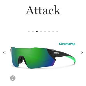 Flash sale Nwt SMITH attack changeable sunglasses